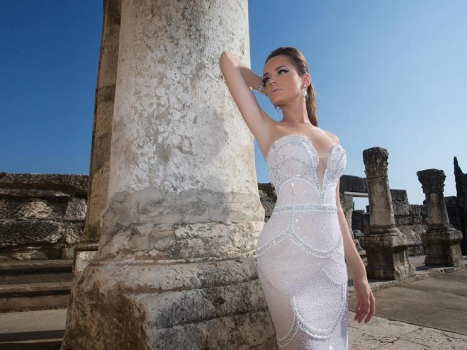 שמלת כלה מרשימה