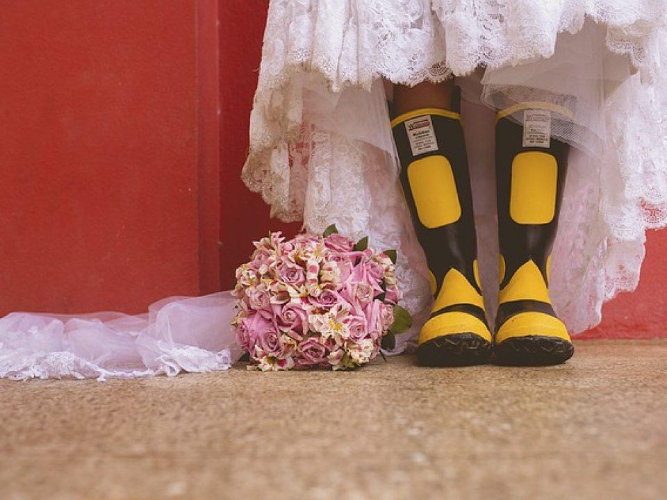 חתונה חורפית בטבע