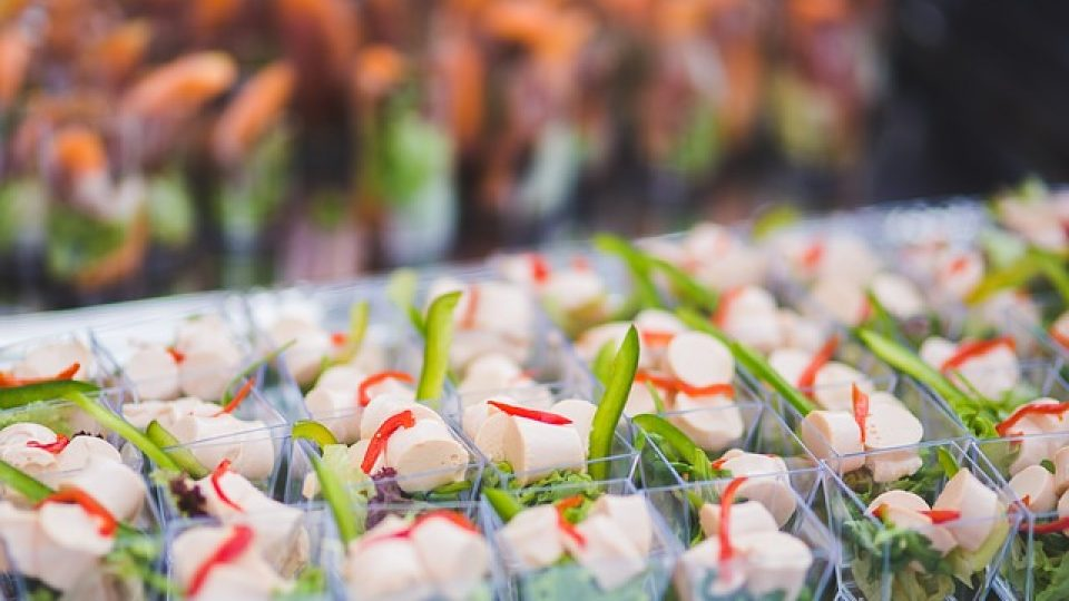 דוכני מזון באירועים
