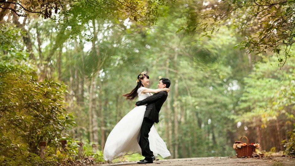 חתונה בטבע
