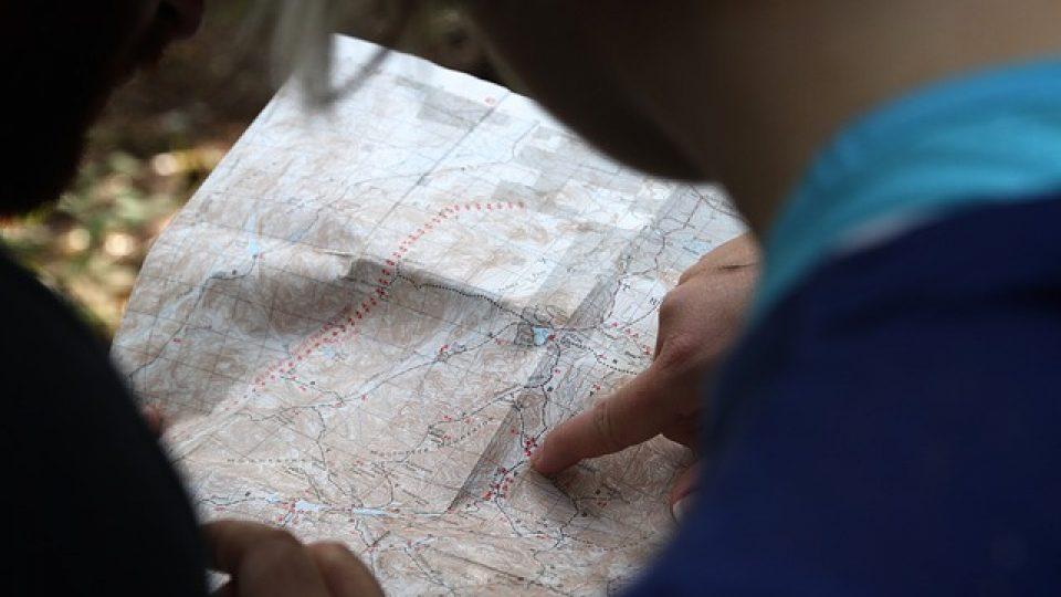 מפות אתרים חשובים במדינות