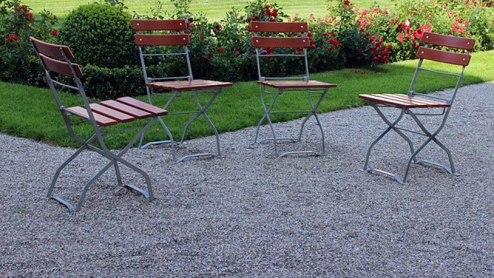 כסא מתקפל לגינה