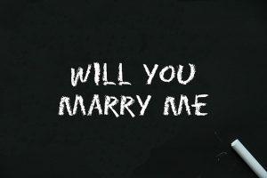 שלט הצעת נישואין