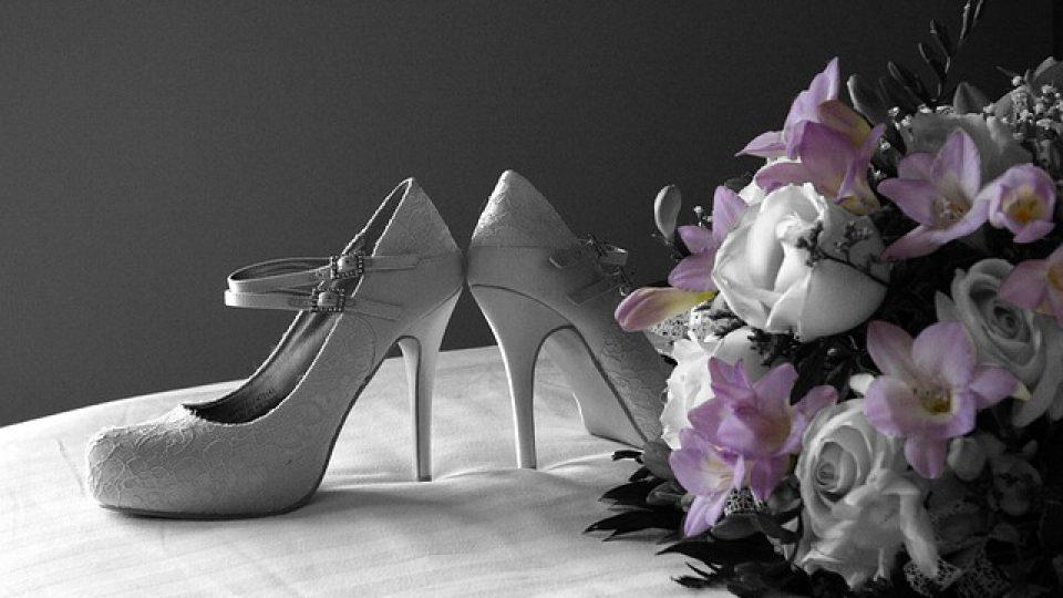 נעלי כלה עקב נמוך